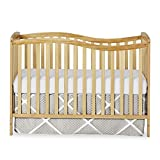 Dream On Me Chelsea 5-in-1 Convertible Crib, Natural