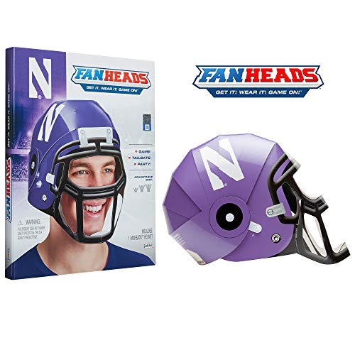 Fanheads- Northwestern Wildcats Helmet (Sports)