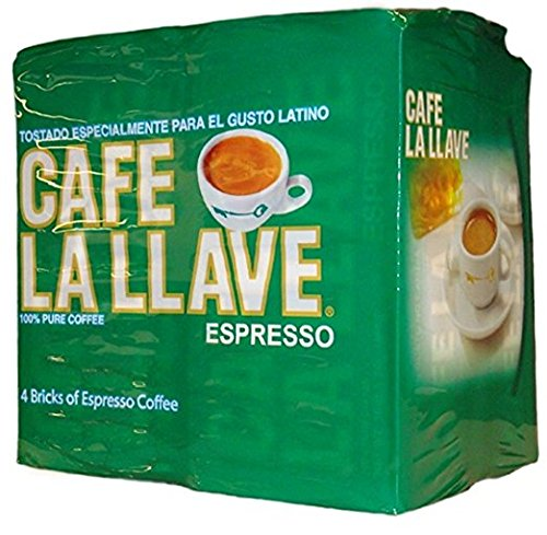 Cafe La Llave Espresso, 4-10 Ounce Bricks