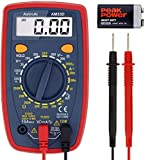 AstroAI Multimeter 2000 Counts Digital Multimeter with DC AC Voltmeter and Auto Ranging Tester ; Measures Voltage, Current, Resistance; Tests Live Wire, Continuity