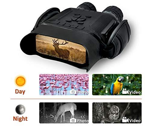 Bestguarder Binocolo per visione notturna Binoculare da caccia digitale ad infrarossi HD 4,5-22,5 x...