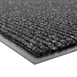 Notrax 109 Brush Step Entrance Mat, for Home or Office, 4' X 8' Charcoal, 109S0048CH