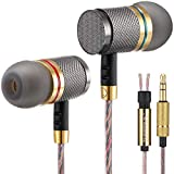 Betron YSM1000 Wired Earbuds, Noise Isolating in Ear Headphones, Deep Bass, Balanced Treble and Mids