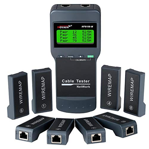 Network Cable Tester - NOYAFA Cable Wire Fault...