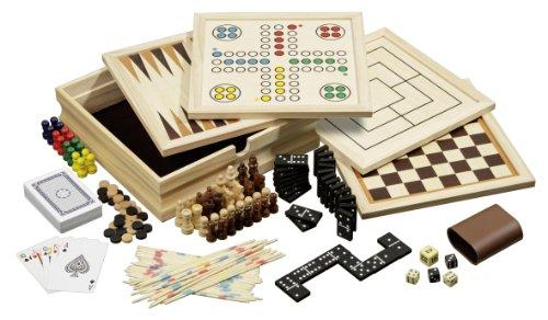 Philos - 3099 - Set De Jeux De Société - 10  - Taille Petit