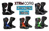 Bottes de Moto XTRM Core Adulte Bottes Hommes & Femmes Scooter Quad Rider sur Route Course Tournee...