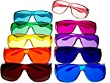 Color Therapy Glasses Large Fit Over Style Sets by BioWaves
