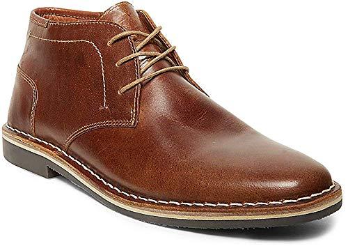 Steve Madden Men's Harken Chukka Boot, Cognac, 10 M US