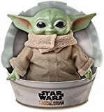 Mattel Star Wars The Mandalorian, Figurine Peluche The Child, Bébé Yoda, 28...
