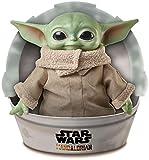 Disney-Star Wars Child The Mandalorian Peluche Giocattolo per Bambini 3+ Anni, da 28 cm, GWD85