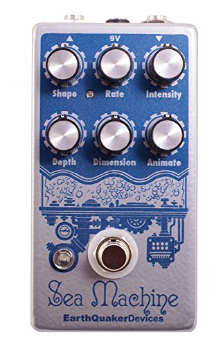 EarthQuaker Devices Sea Machine V2 Super Chorus Guitar Effects Pedal