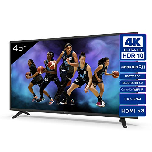 TD Systems K45DLJ12US - Televisores Smart TV 45 Pulgadas 4k UHD,...