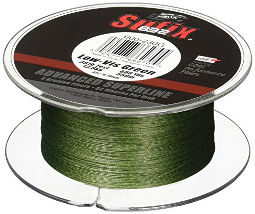 Sufix 832 Braid Line-600 Yards (Green, 40-Pound)