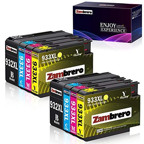 Zambrero 932 933 XL Cartucce d'inchiostro Sostituzione per HP 932XL 933XL per HP Officejet 6700 6600...