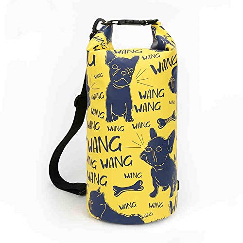 CHAOZHAOHENG Wasserdichter Packsack-Roll-Top-Packsack mit trockener Kompression hält die Ausrüstung trocken, Sieht stilvoll aus und trennt sie nass und trocken. Geeignet zum Schwimmen und Angeln