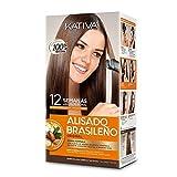 KATIVA ALISADO BRASILEÑO Kit (KERATINA), Único, 1 Unidad (Paquete de 1)