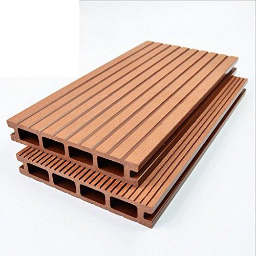Diy pavimenti in legno/all'aperto,balcone,pavimentazione di legno esterna/pavimenti in legno/mosaico...