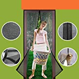 Homearda Magnetic Screen Door Fiberglass-New Upgraded Magnets &...