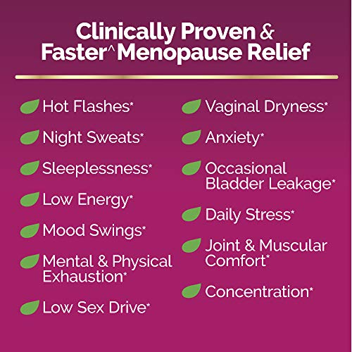 Estroven Complete Menopause Relief | All-In-One Menopause Relief* | Safe and Effective | Reduce Multiple Menopause Symptoms*1 | Reduces Hot Flashes and Night Sweats* | One Per Day | 28 Count 2