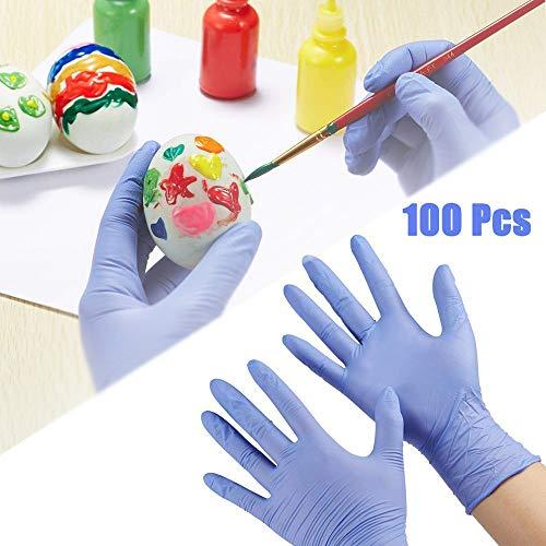 Guanti usa e getta, senza lattice, per uso alimentare, senza polvere, per lavare, dipingere,...