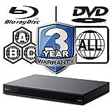 Sony UBP-X800 Region Free Blu-ray 4k UHD 3D Wifi Lan Bluetooth region free blu-ray A, B, C; region 0-8 standard DVD