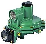 Emerson-Fisher LP-Gas Equipment R622-DFF 2nd Stage Regulator, 9-13' W.C Spring, 3/4' x 3/4' NPT