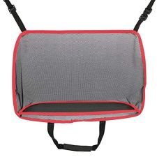 51PPSgNCFyL ▶ Extra Storage Between Seats: Fits most sizes of handbag. The car net pocket handbag holder provides extra storage space for your items like handbag, purse, tablet, magazine ect.. Size: 15.7*5.9*10 inch. ▶ Help as Barrier: This car net pocket is adopted durable mesh. It is can also a special barrier that prevents naughty kids or pets in the back seat disturbing your daily drives. ▶ Compatibility: It is a universal car handbag holder that can be used to most vehicles with headrest pole and consoles. Attention, some car consoles don't fit for this kind of car storage, such as Side Open Armrest Box, No Armrest Box, Double Open Armrest Box, Sports Armrest Box.Please check your car consoles before buying this product.
