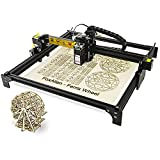 """Reizer 20W Laser Engraver, Class 4 Fixed-Focus CNC Laser Engraving Machine with 32-bit Board for Wood, MDF, Stainless Steel, Leather Etching GRBL Control (15.75""""x15.75"""" Large Engraving Area)"""