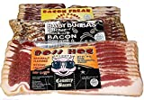 Bacon Freak Dry Cured Gourmet Bacon Sampler 42 ounces Total