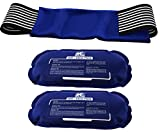 Ice Pack (2-Piece Set) – Reusable Hot and Cold Therapy Gel Wrap Support Injury Recovery, Alleviate...
