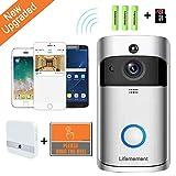 Wireless Doorbell WiFi Smart...