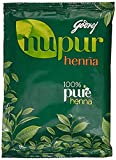 Nupur Natural Henna with Goodness of 9 Herbs for Silky & Shiny Hair 3 Pack (3 x 120 g)