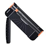 WORKLION Paper Cutter - A4 Paper Craft Cutter with Security Blade for Cut Gift Card, Coupon, Label,...