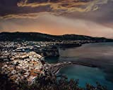 Kpoiuy Pintar por NúMeros DIY Costa De Amalfi, Ciudad, BahíA, Edificios, Italia DecoracióN De La Boda De La Lona Imagen del Arte Regalo 40 * 50CM Sin Marco