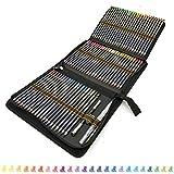 ZZONEART 72 Crayon de Couleur aquarellable Pro Pas Cher avec Accessoire Dessin...