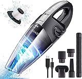 Main sans Fil, Puissant USB Aspirateur Portatif Rechargeable 2200mAh 120W...