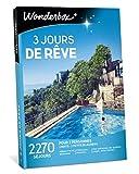 Wonderbox - Coffret cadeau séjour - 3 JOURS DE RÊVE - 2270 Séjours...