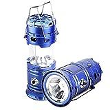 Lanterne de camping portative solaire à LED,lampes...