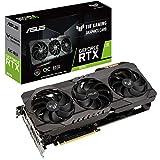 ASUS TUF-RTX3070-O8G-GAMING - Tarjeta gráfica (NVIDIA GeForce RTX 3070 OC Edition, PCIe 4.0, 8 GB GDDR6, HDMI 2.1 , DisplayPort 1.4a, Doble rodamiento de Bolas, Grado Militar, GPU Tweak II)