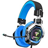 BENGOO G9200 Gaming Headset Headphones for Xbox One PS4 PC Controller, 4 Speaker Drivers Over Ear...