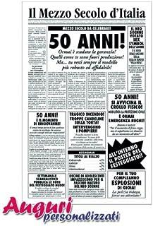 Amazonit Biglietti Auguri Compleanno 50 Anni
