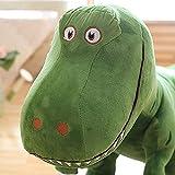 NC88 Simulación de Dinosaurio Grande de Peluche de Juguete Animal Dinosaurio Tyrannosaurus Dragon Doll 40cm Decoración de la habitación Regalo Muñeca de Peluche Regalo Creativo-B