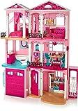 Barbie Mobilier Grande Maison de poupée de rêve, à 3 étages et 7...