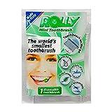 Rolly – RB1098 – Brosses à dents de poche jetables–Goût menthe...