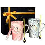 Ensembles de Mugs - Mr Mrs Tasses à Café 2Pcs Ensembles deTasses...