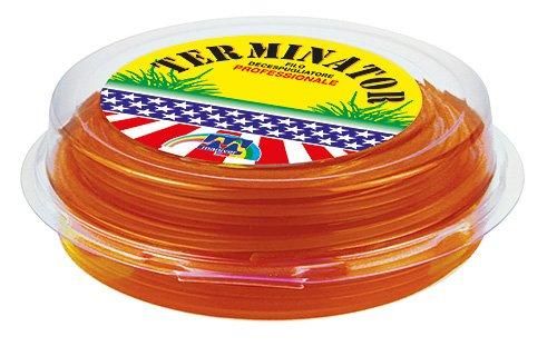 Maniver FIN521 Filo Decespugliatore, Arancio, 22x21x5.5 cm