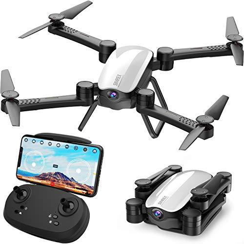 SIMREX X900 Drone RC Quadricottero Altitudine Tenere Senza Testa RTF 3D 360 Gradi FPV Video WiFi 1080P Videocamera HD 6 Assi 4CH 2.4Ghz Altezza Tenere Facile Vola costante per l'apprendimento Bianca
