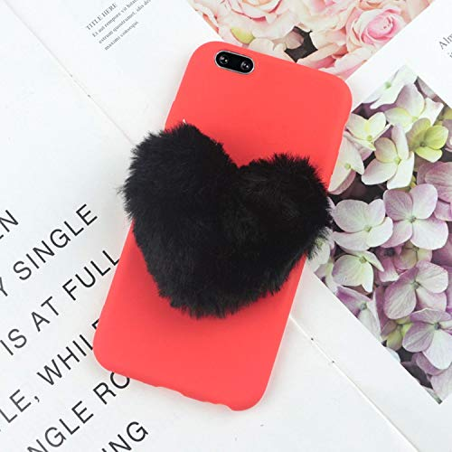 Phone Case for Samsung Galaxy J4 Cases for Galaxy J2 Pro J3 J5 J7 Prime J6 J8,BigBlackLove Red,J5 J530 EU