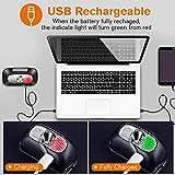 VICTOOM Lampe Frontale, Torche Frontale LED Rechargeable USB Puissante, 5 Modes d'éclairage, 60°...