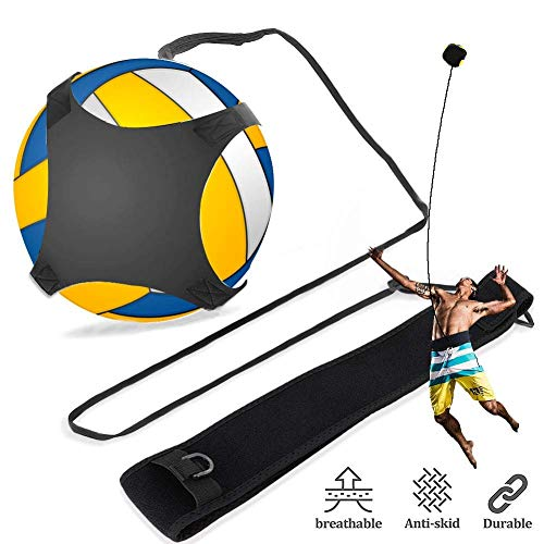 YHG Volleyball Training Equipment, Volleyball Training Aid with Waist Strap for Solo Practice of Arm Swing Rotations, Serving, Spiking and Hitting